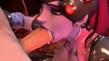 Widowmaker Is Hungry For Cum Adult Animation