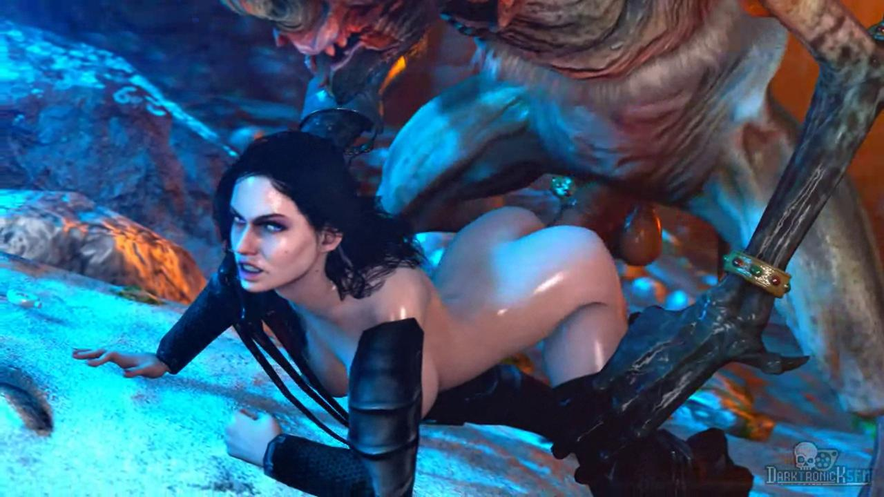 Yennefer Taking a Katakan Huge Dick