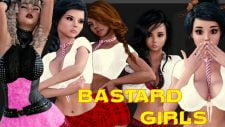 Bastard Girls R 18+ Adult game cover