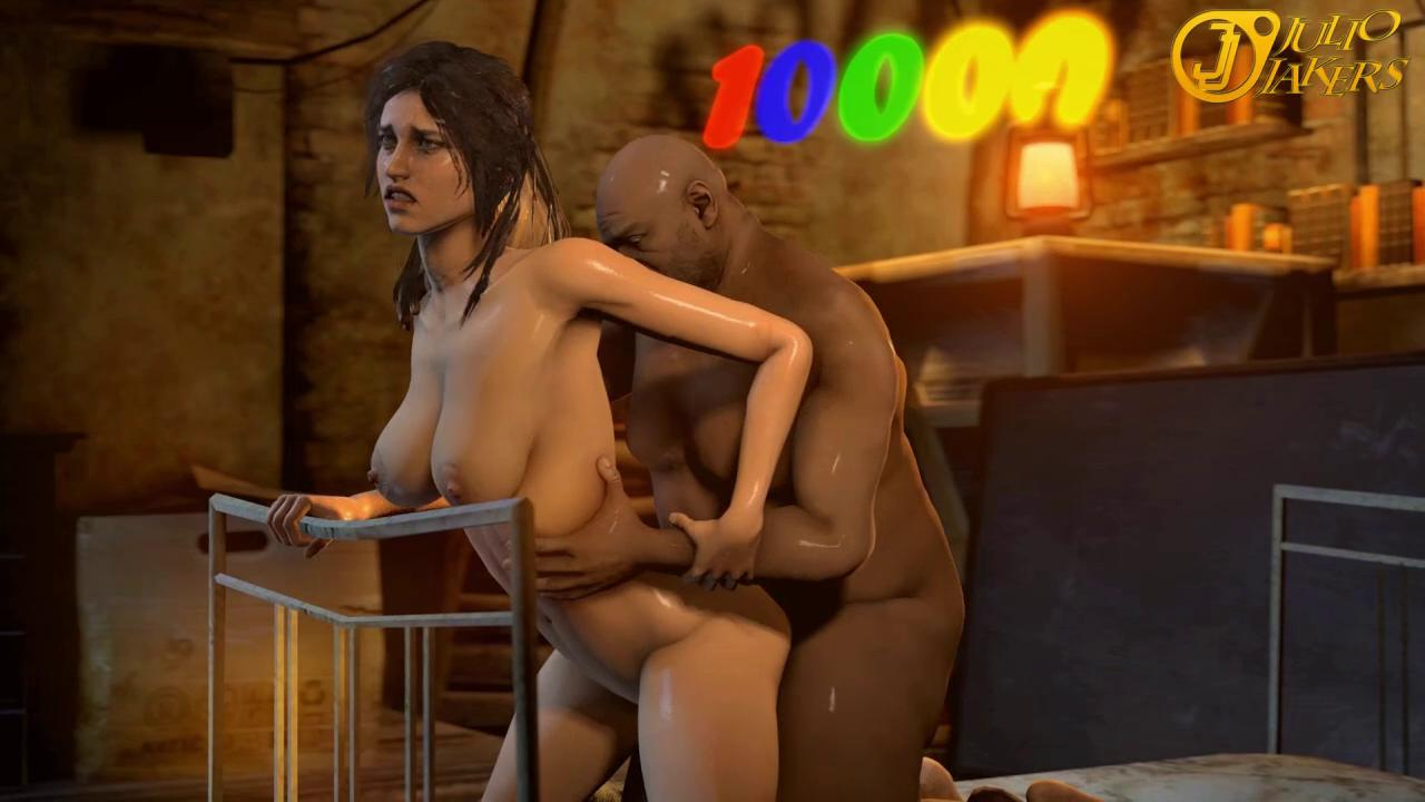 Lara Croft Fucked by Coach