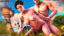 Geralt of Rivia Fucks Syanna Adult Animation