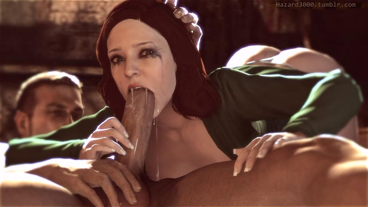 Hitman Diana Burnwood Blowjob