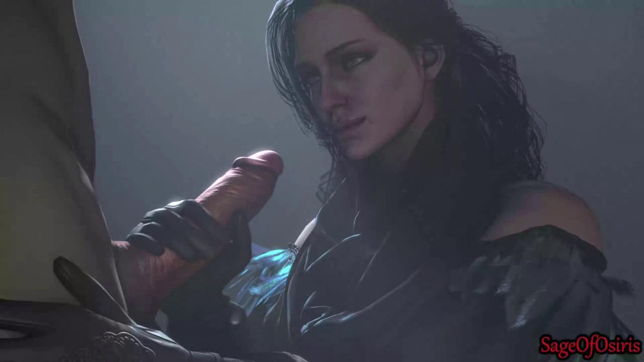 In the Bedroom with Yennefer