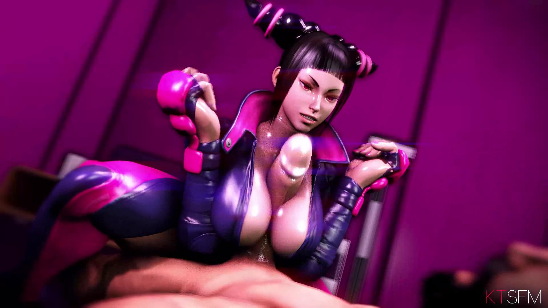 Juri Han Riding Cock