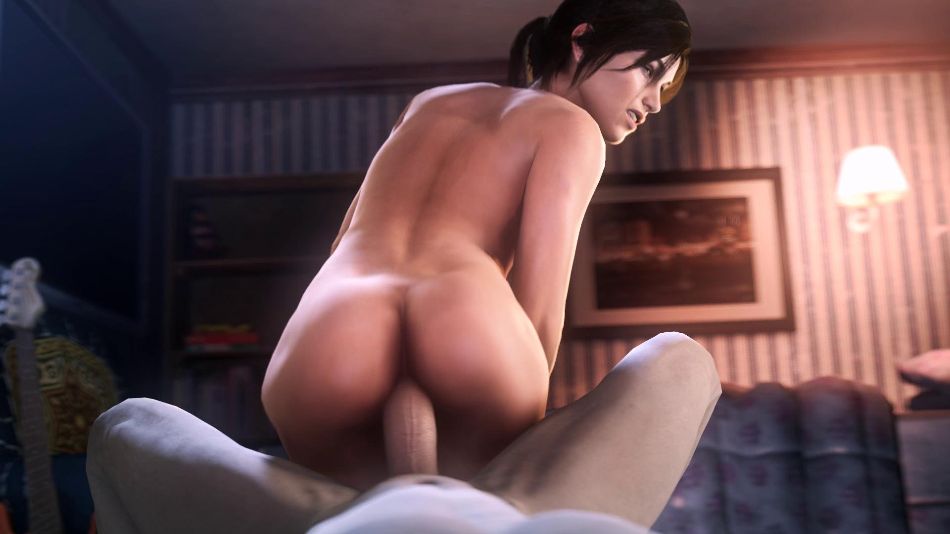 Anal Adventure of Lara Croft