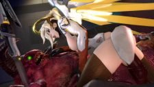 Mercy Taming the Demon Adult Animation