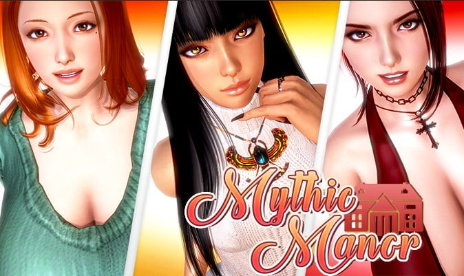 Mythic Manor Adult Game Cover