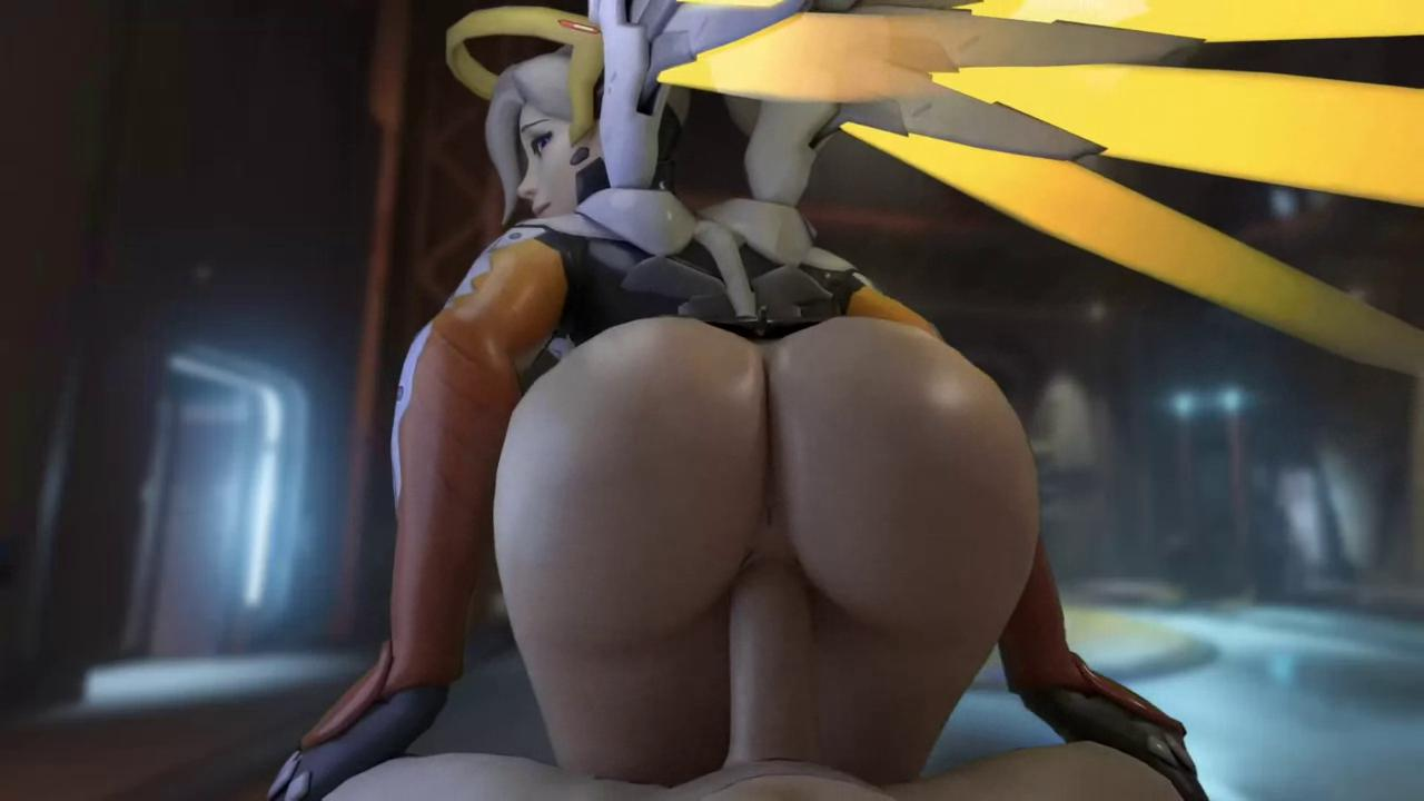 Overwatch Mercy Sweet Cock Riding