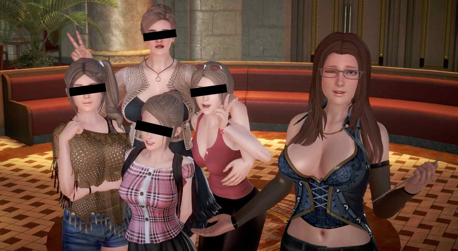 Perverted Hotel Adult Game Cover