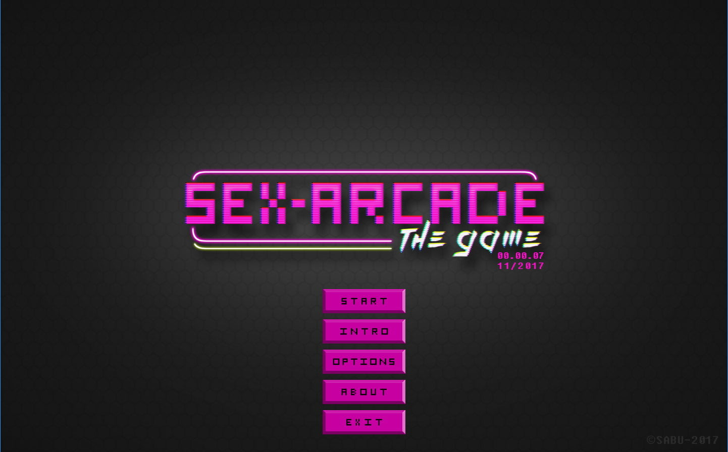 Sex-Arcade The Game Adult Game Cover