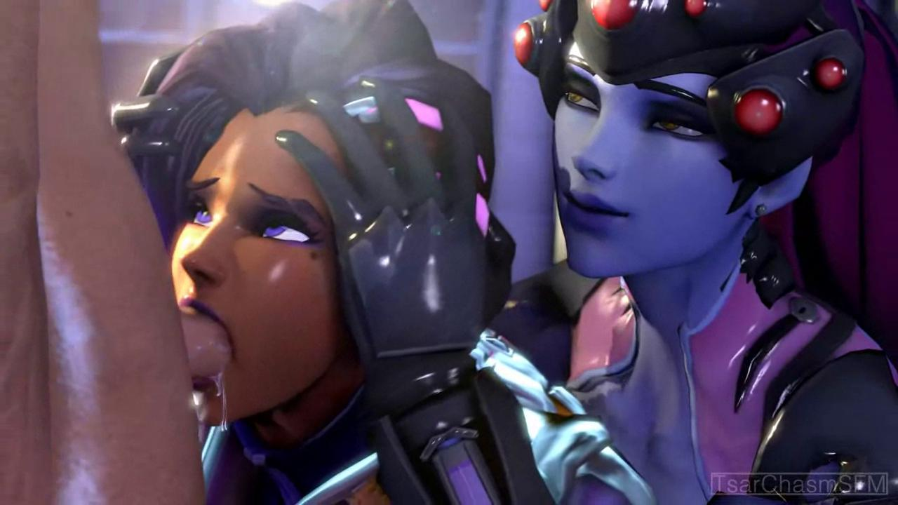 Blowjob Lesson With Sombra