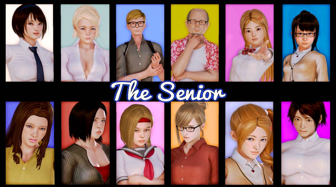 The Senior Adult Game Cover