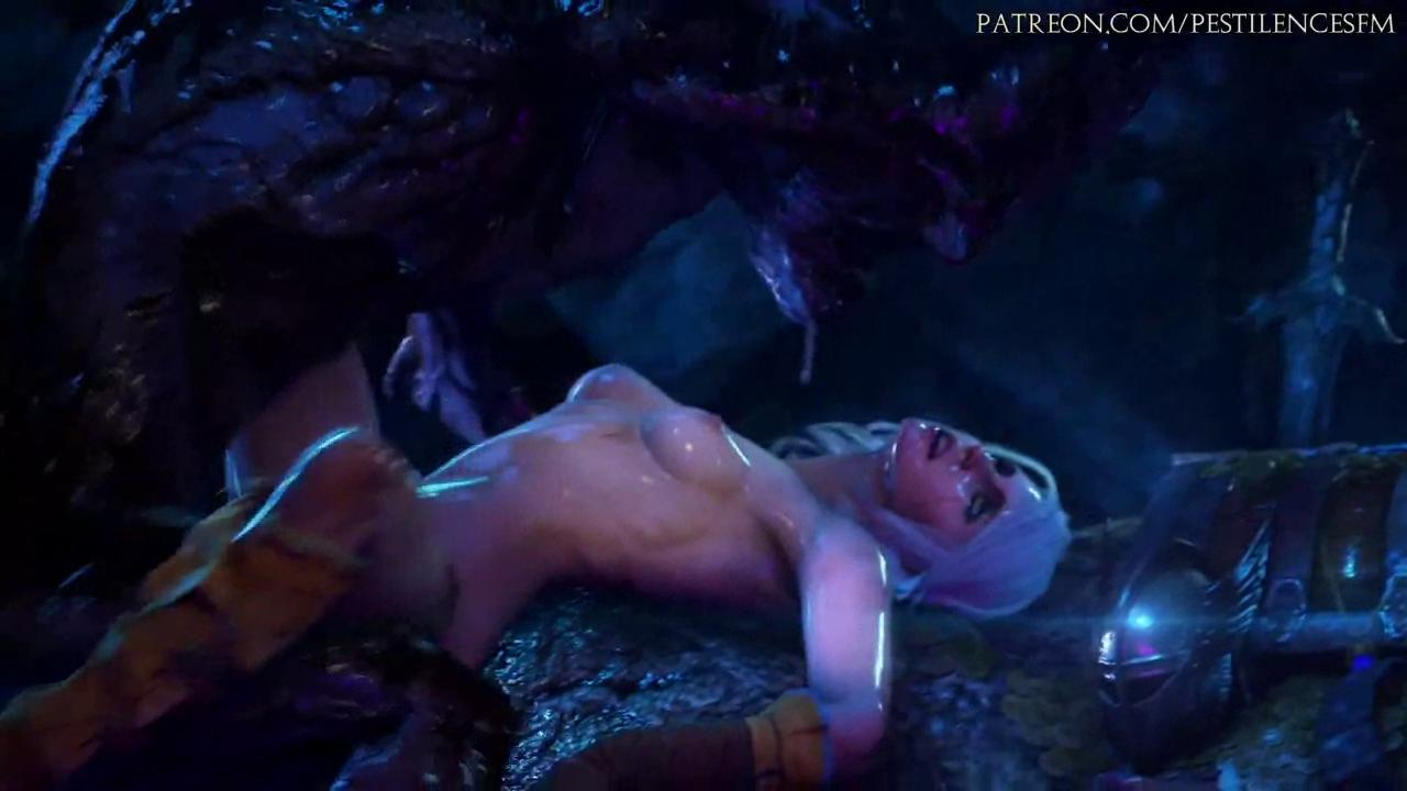 The Witcher Ciri Monster Fuck