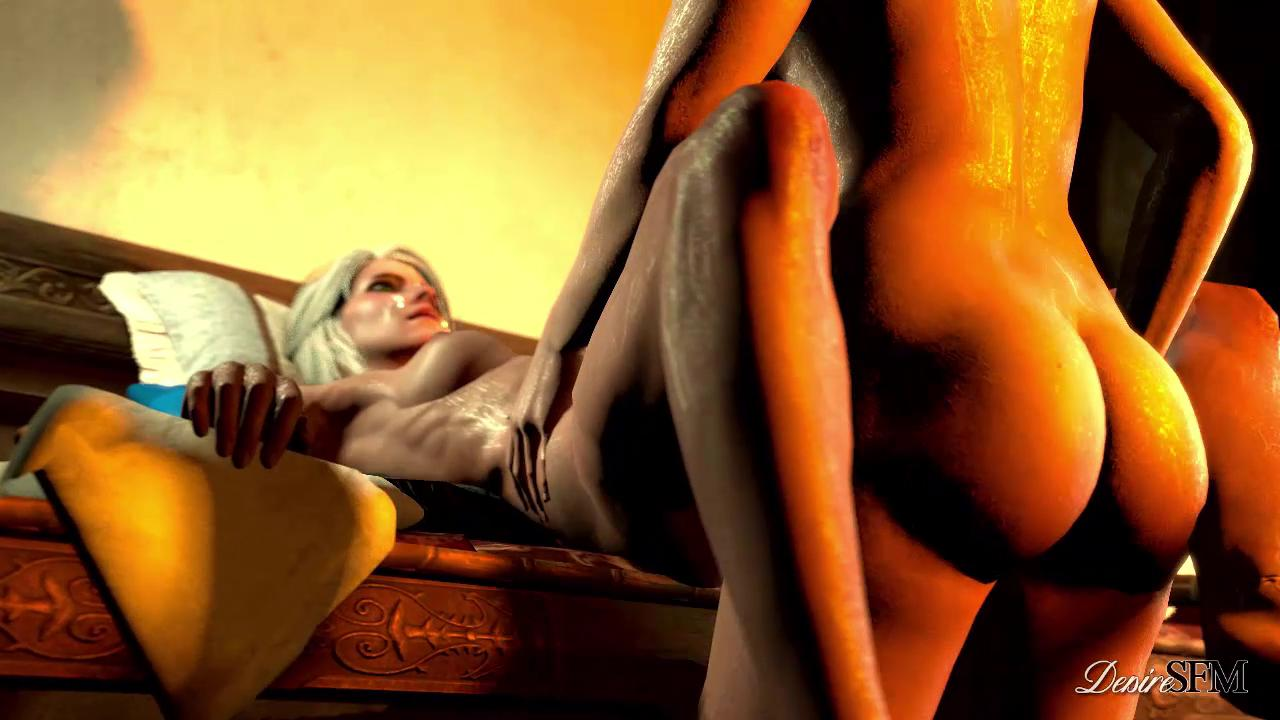 Triss Merigold And Ciri Futanari Sex