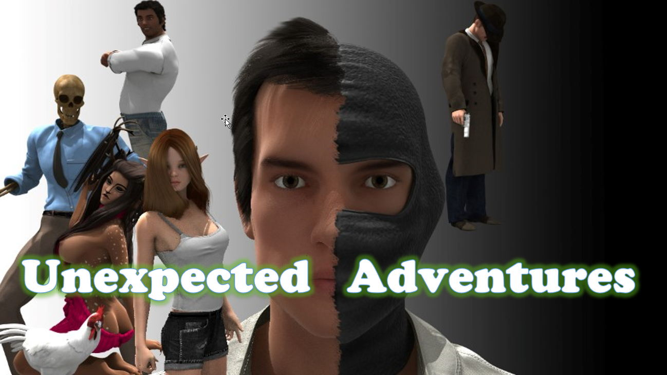 Unexpected Adventure Adult Game Cover