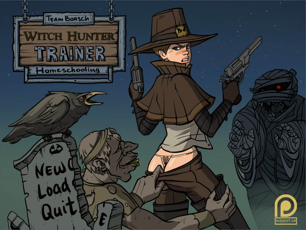 Witch Hunter Trainer Adult Game Cover