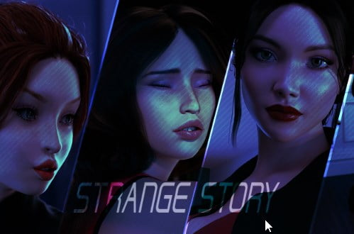 A Strange Story Adult Game Cover