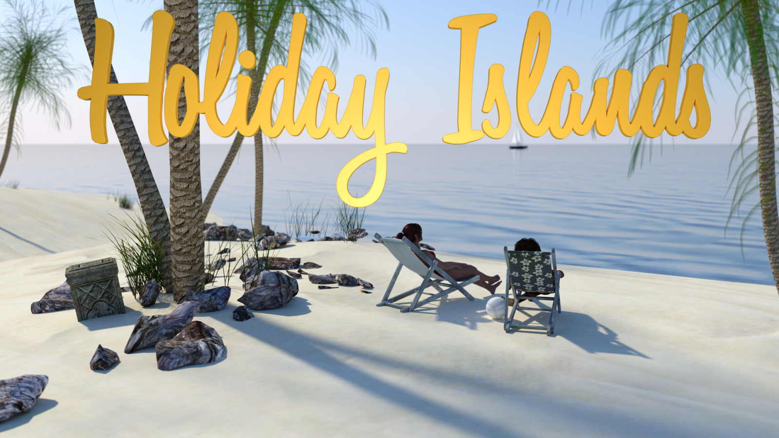 Holiday Islands Adult Game Cover
