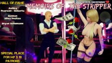 Memoirs Of The Stripper 18+ Adult game cover