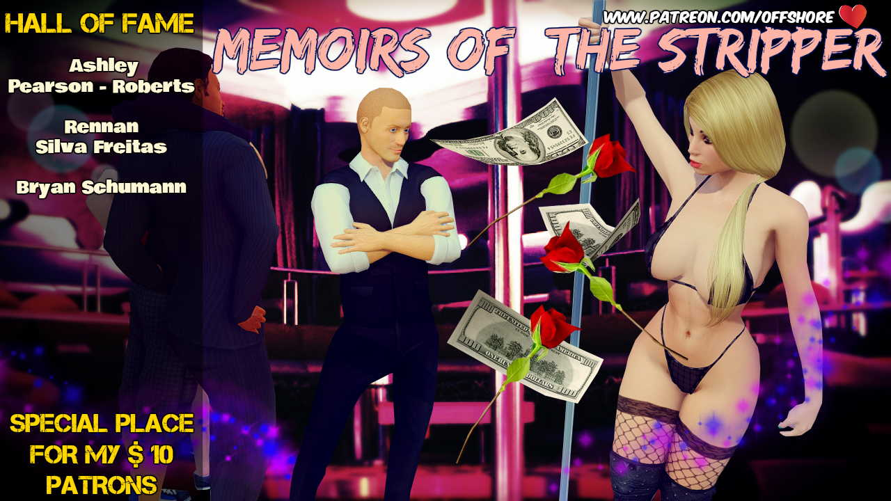 Memoirs Of The Stripper Adult Game Cover