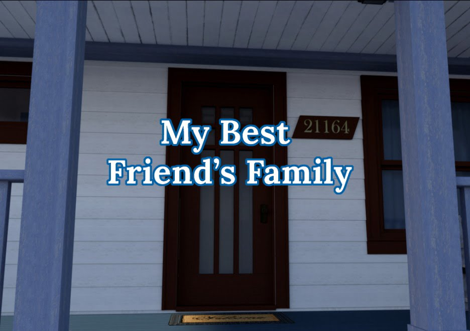 My Best Friend's Family Adult Game Cover