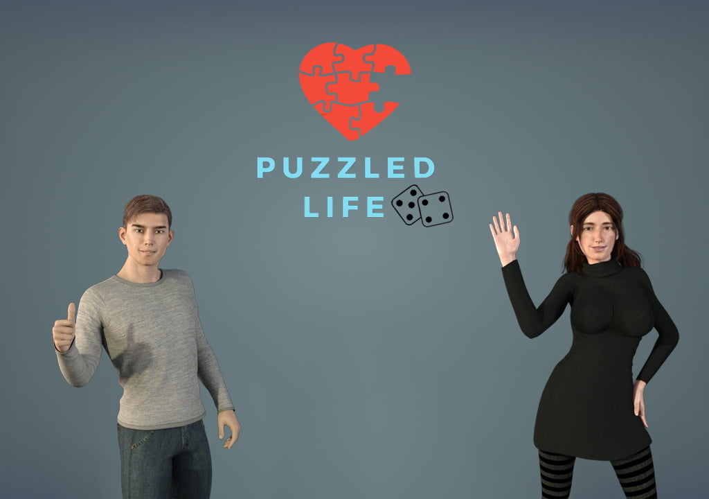 Puzzled Life Adult Game Cover