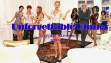 Unforgettable Dinner 18+ Adult game cover