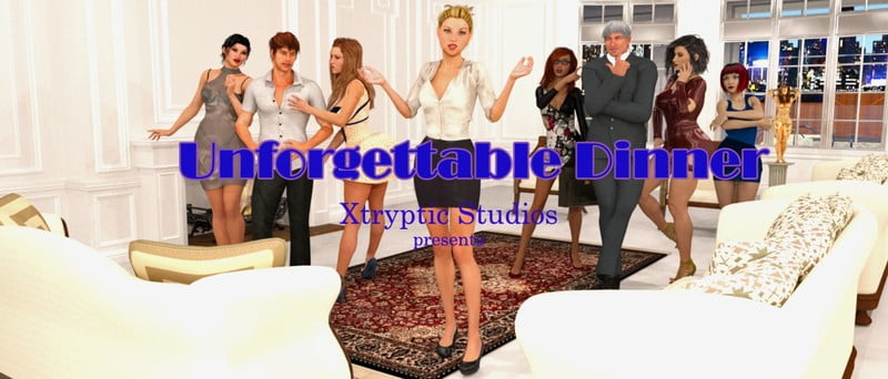 Unforgettable Dinner Adult Game Cover