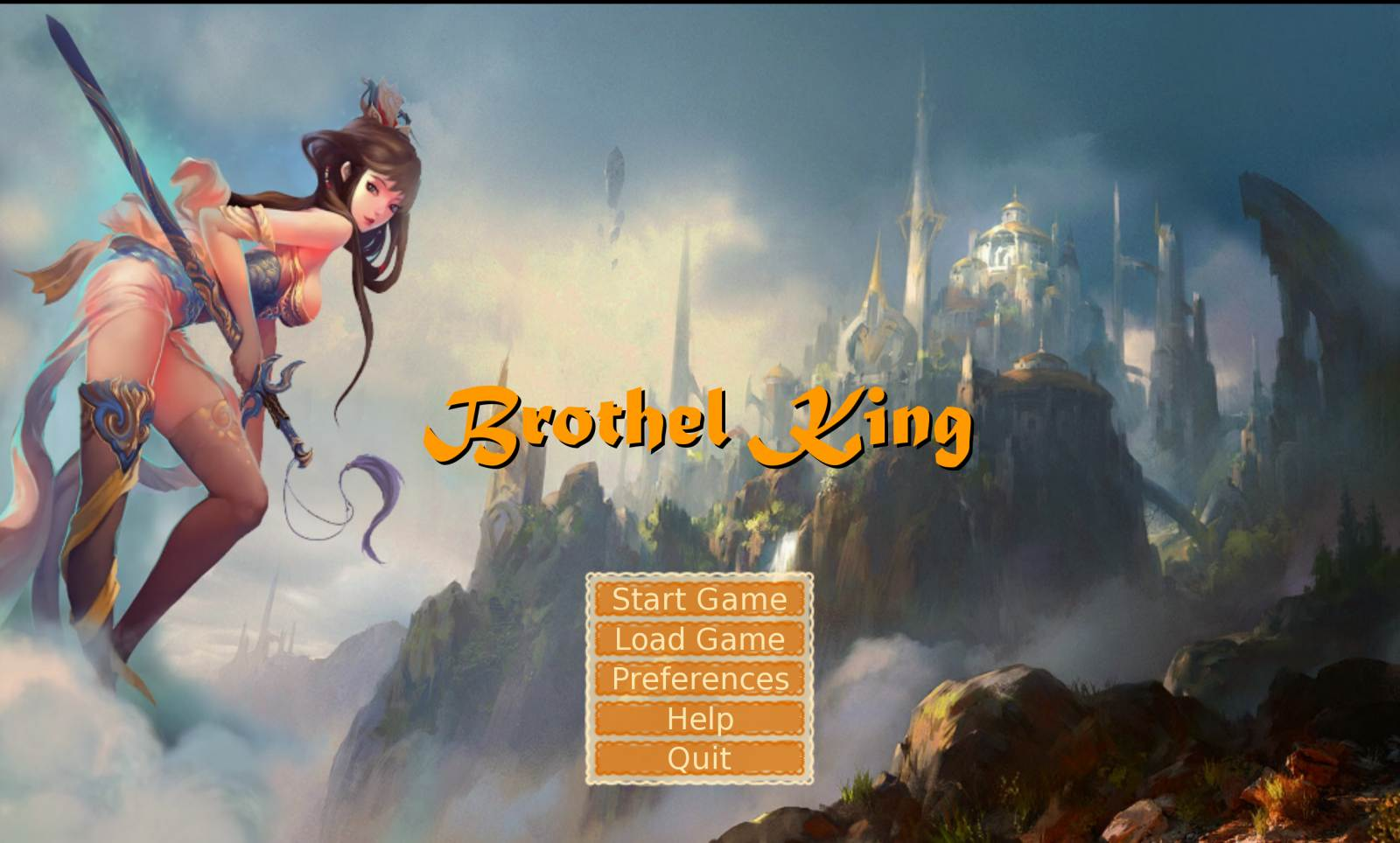 Brothel King Adult Game Cover