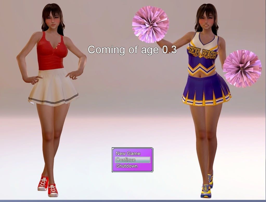 Coming Of Age Adult Game Cover