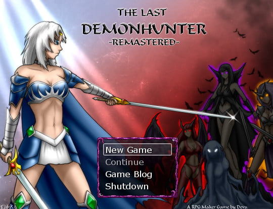 The Last Demon hunter Remastered Adult Game Cover