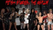 Fetish Stories: The Asylum 18+ Adult game cover