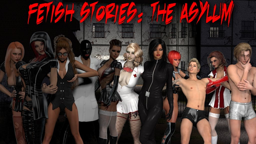 Fetish Stories: The Asylum Adult Game Cover