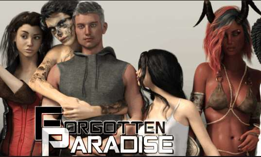 Forgotten Paradise Adult Game Cover
