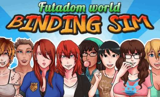 Futadom World: Binding Sim Adult Game Cover