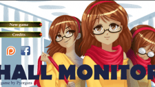 Hall Monitor 18+ Adult game cover