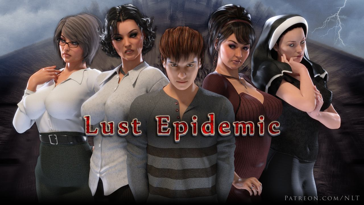Lust Epidemic Adult Game Cover