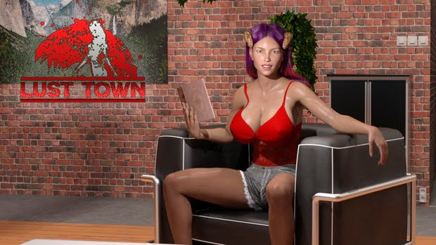 Lust Town Adult Game Cover