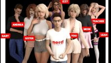 Nerd Adventure 18+ Adult game cover