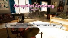 Seraphim Academy 18+ Adult game cover