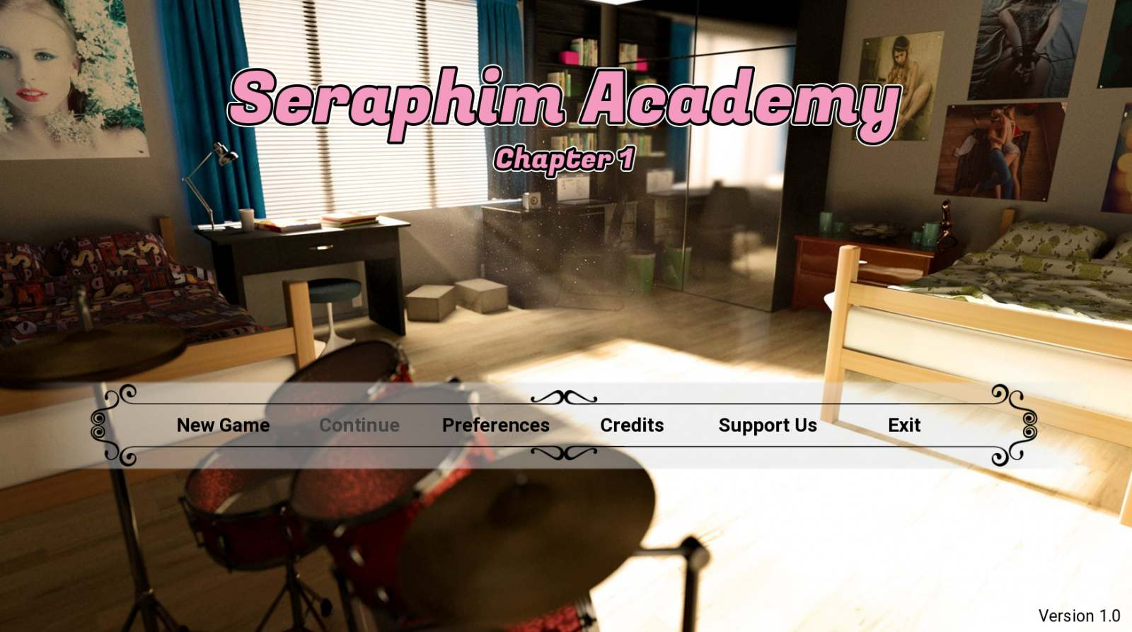 Seraphim Academy Adult Game Cover