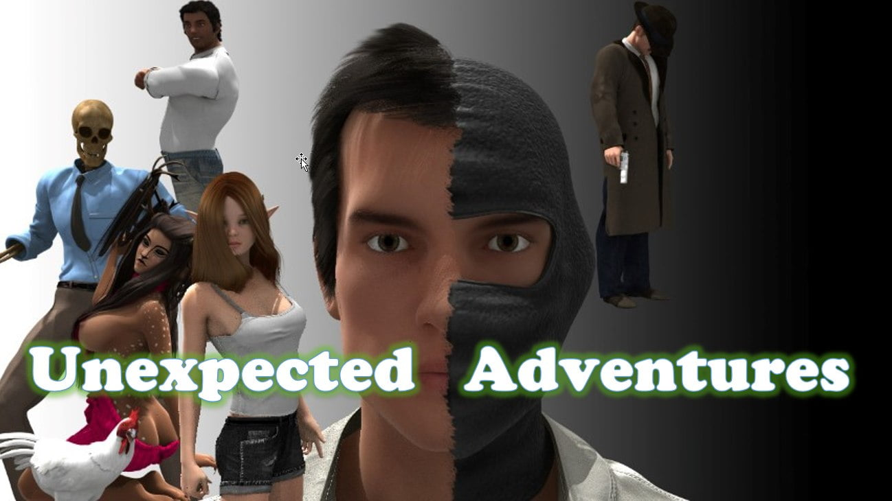 Unexpected Adventures Adult Game Cover