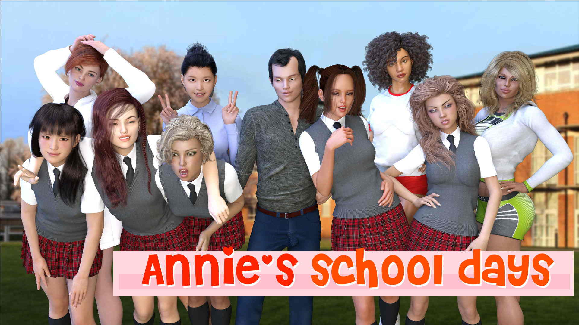 Ann's School Days Adult Game Cover