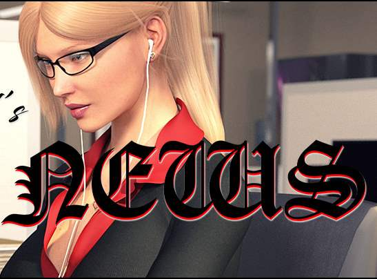 Jessica O'Neil's Hard News Adult Game Cover
