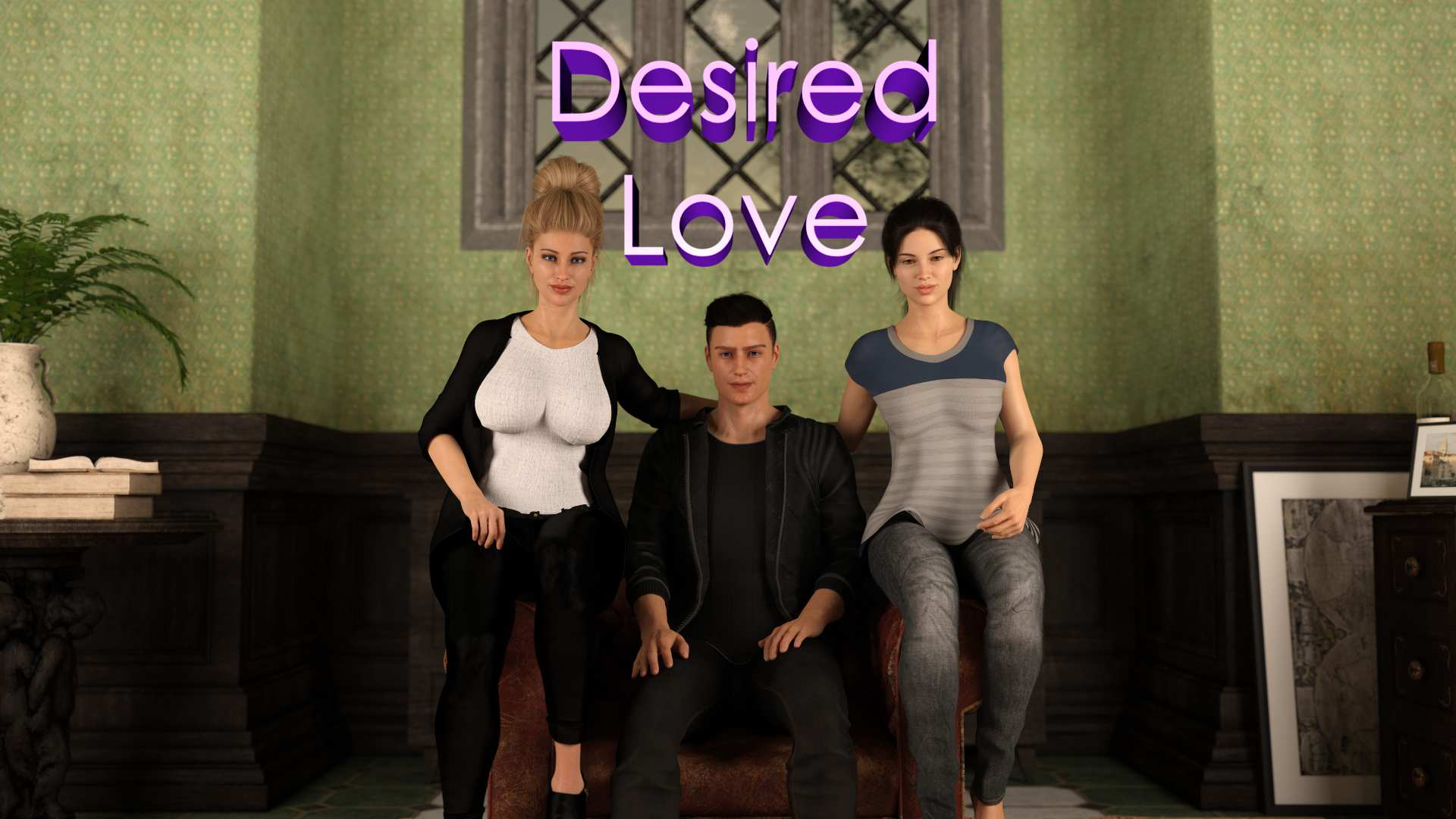 Desired Love Adult Game Cover
