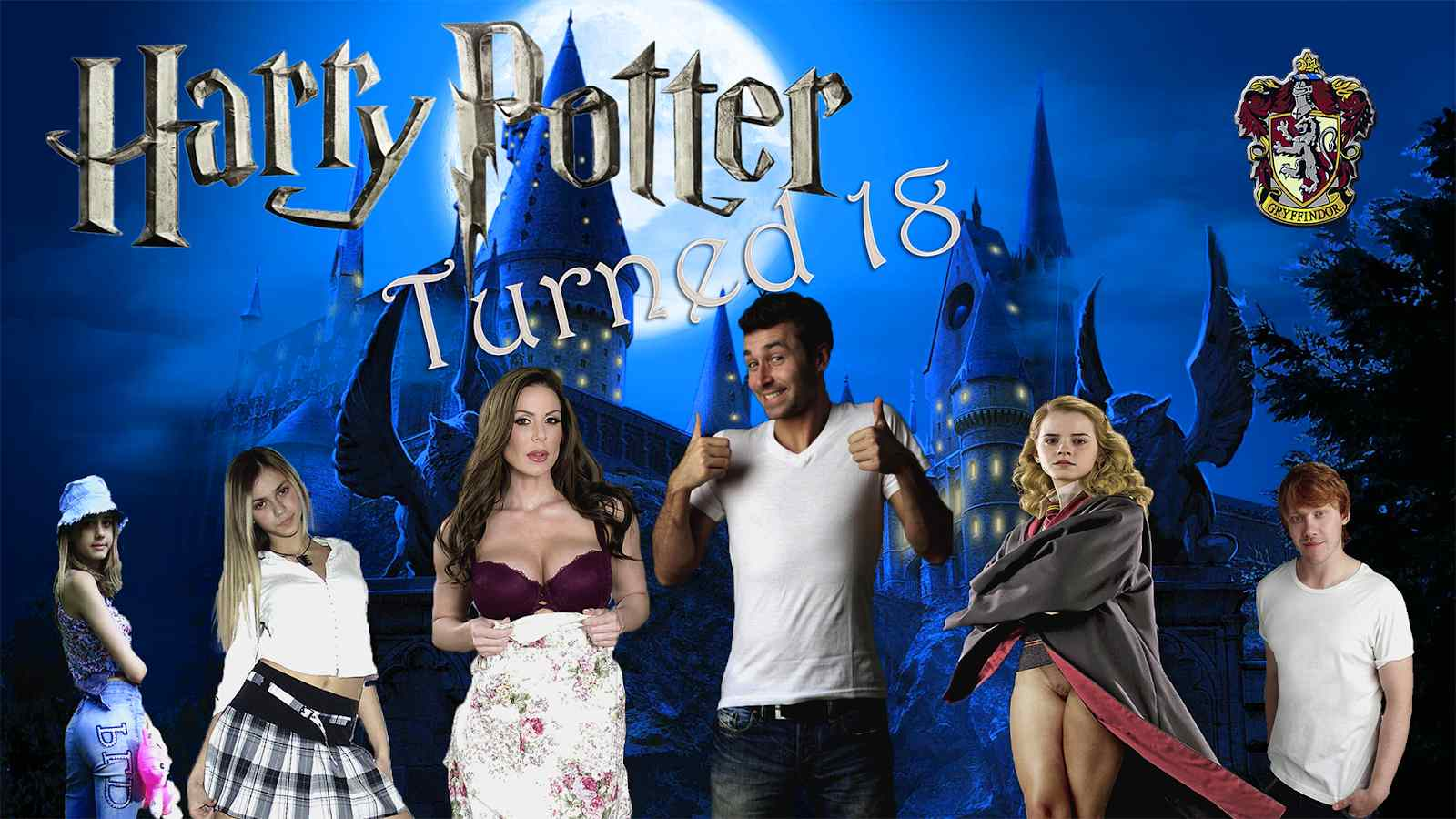 Harry Potter Turns 18 Adult Game Cover