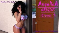 Angelica Origins 18+ Adult game cover