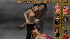 Big City's Pleasures 18+ Adult game cover