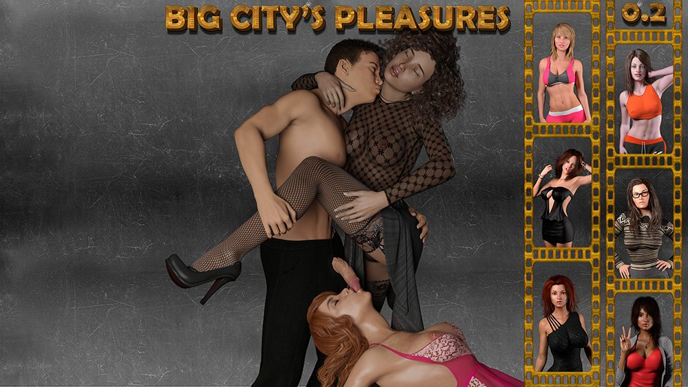 Big City's Pleasures Adult Game Cover