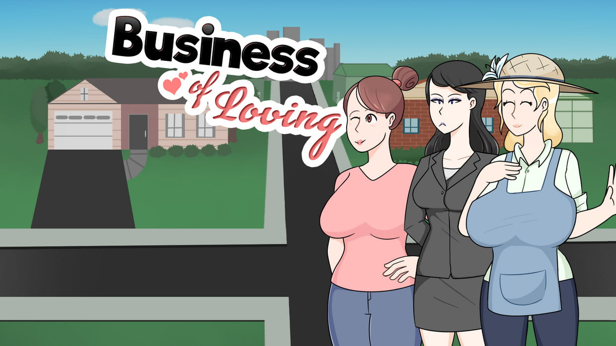 Business of Loving Adult Game Cover